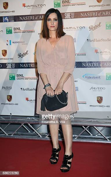 Alessia Barela attends Nastri D'Argento 2016 Award Nominations at Maxxi on May 31 2016 in Rome Italy