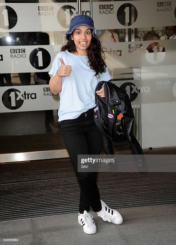 Alessia Cara at BBC Radio 1 on June 15 2016 in London England