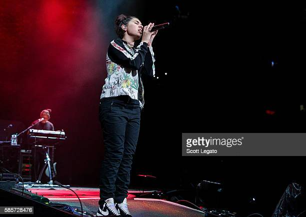 Alessia Cara performs at The Palace of Auburn Hills on August 3 2016 in Auburn Hills Michigan