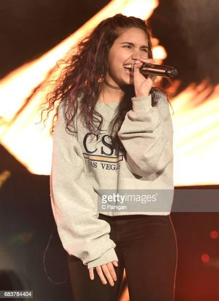 Alessia Cara performs onstage during 1027 KIIS FM's 2017 Wango Tango at StubHub Center on May 13 2017 in Carson California