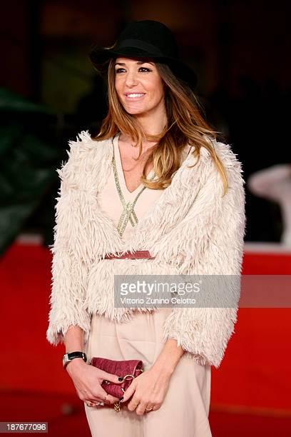 Alessia Fabiani attends 'Romeo And Juliet' Premiere during The 8th Rome Film Festival at Auditorium Parco Della Musica on November 11 2013 in Rome...