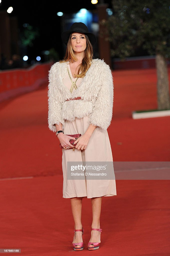 Alessia Fabiani attends 'Romeo And Juliet' Premiere during The 8th Rome Film Festival on November 11, 2013 in Rome, Italy.