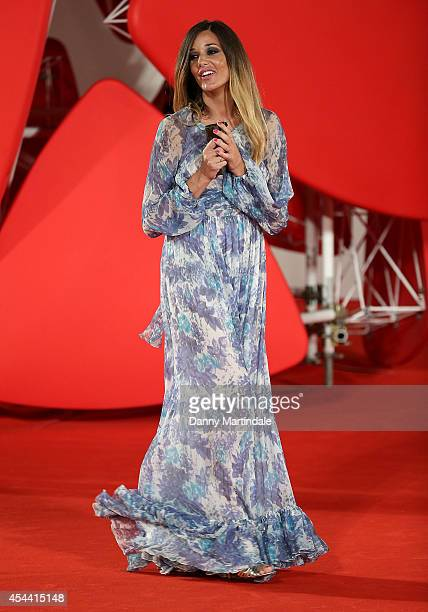 Alessia Fabiani attends 'The Humbling' premiere at the 71st Venice Film Festival on August 30 2014 in Venice Italy