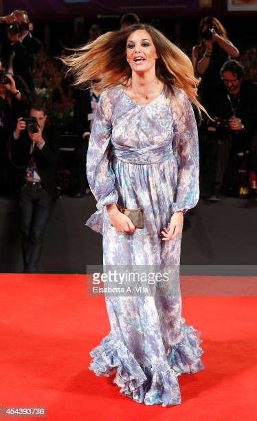 Alessia Fabiani attends 'The Humbling' premiere during the 71st Venice Film Festival on August 30 2014 in Venice Italy