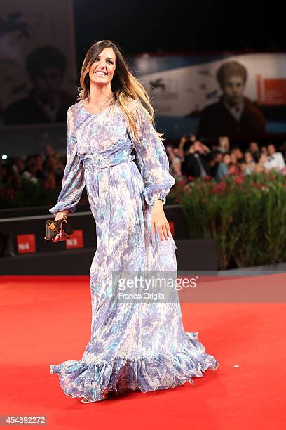 Alessia Fabiani attends the 'The Humbling' Premiere during the 71st Venice Film Festival on August 30 2014 in Venice Italy