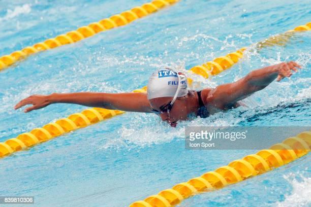 Alessia FILIPPI 400m 4 nages Open EDF de Natation 2007 Paris