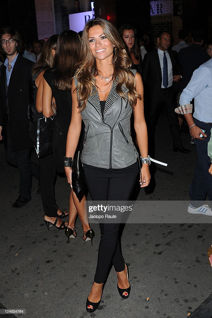 Alessia Ventura attends Hugo Boss McLaren Celebrate 30 Years Partnership on September 7 2011 in Milan Italy