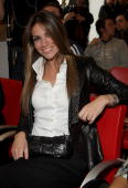 Alessia Ventura attends the 300 Gol Book Launch held at Mondadori Multicenter on May 6 2010 in Milan Italy