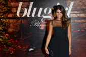 Alessia Ventura attends the Blugirl show as a part of Milan Fashion Week Womenswear Spring/Summer 2014 on September 19 2013 in Milan Italy