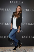 Alessia Ventura attends the Le Silla Presentation as part of Milan Fashion Week Womenswear Spring/Summer 2014 on September 21 2013 in Milan Italy