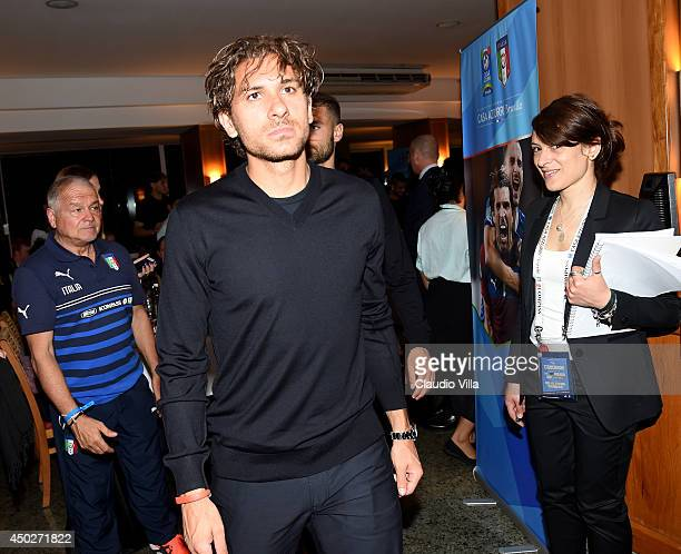 Alessio Cerci attends Italy Team Visit Casa Azzurri on Mangaratiba on June 7 2014 in Rio de Janeiro Brazil
