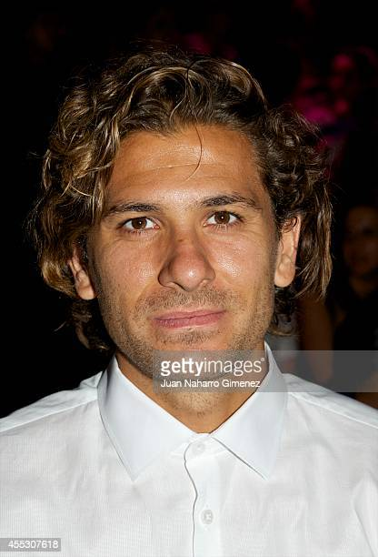 Alessio Cerci attends Mercedes Benz Fashion Week Madrid at Ifema on September 12 2014 in Madrid Spain
