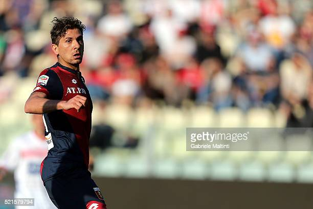 Alessio Cerci of Genoa CFC shows his dejection during the Serie A match between Carpi FC and Genoa CFC at Alberto Braglia Stadium on April 16 2016 in...
