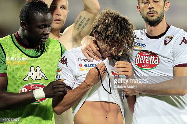 Alessio Cerci of Torino FC shows his dejection during the Serie A match between ACF Fiorentina and Torino FC at Stadio Artemio Franchi on May 18 2014...