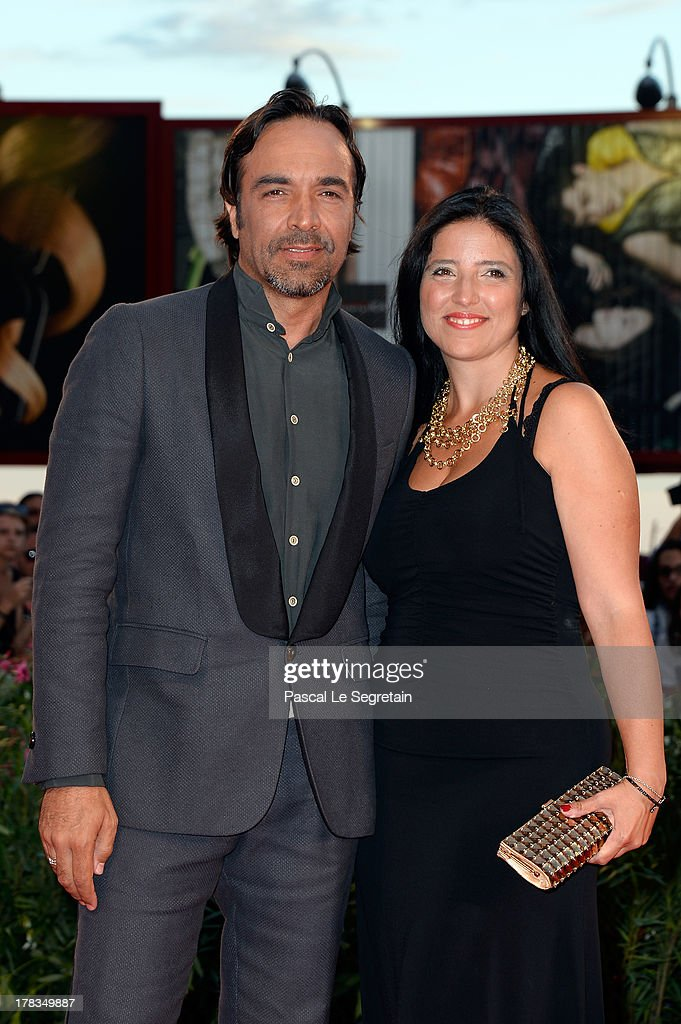 Alessio di Clemente and Ylenia Politano attend the 'Tracks' premiere during the 70th Venice International Film Festival at the Palazzo del Cinema on August 29, 2013 in Venice, Italy.