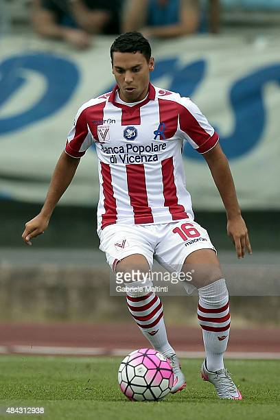 Alessio Vita of Vicenza Calcio in action during the TIM Cup match between Empoli FC and Vicenza Calcio at Stadio Carlo Castellani on August 15 2015...