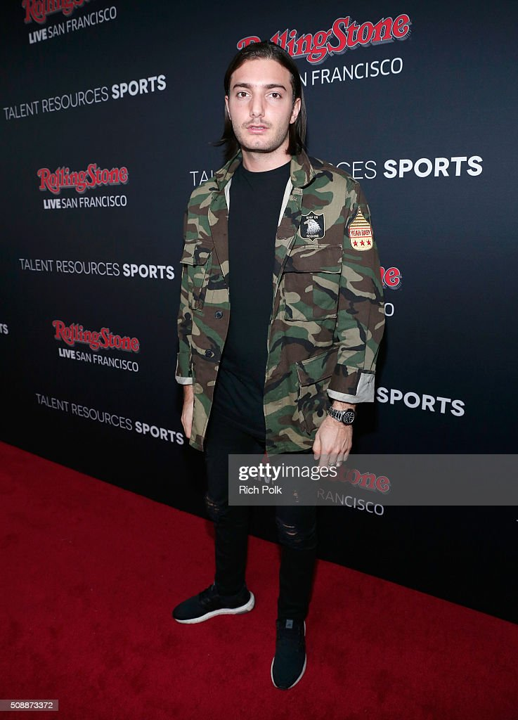 DJ Alesso attends Rolling Stone Live SF with Talent Resources on February 7, 2016 in San Francisco, California.