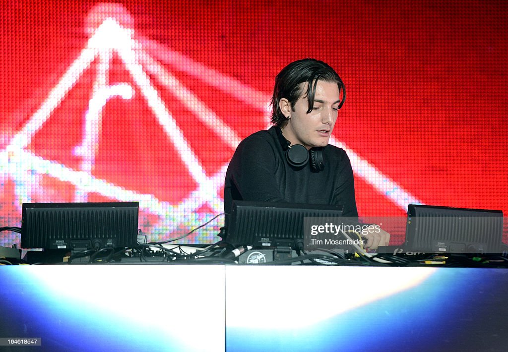 Alesso performs at the Ultra Music Festival on March 24, 2013 in Miami, Florida.