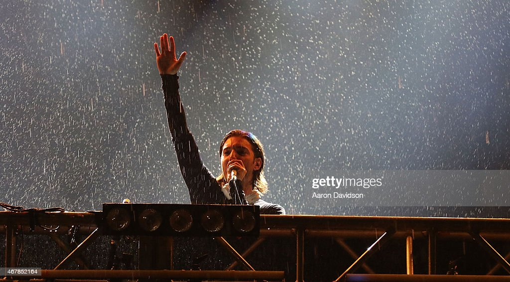 Alesso performs at Ultra Music Festival at Bayfront Park Amphitheater on March 27 2015 in Miami Florida
