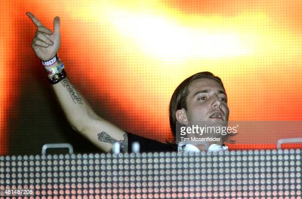 Alesso performs during Ultra Music Festival at Bayfront Park Amphitheater on March 29 2014 in Miami Florida