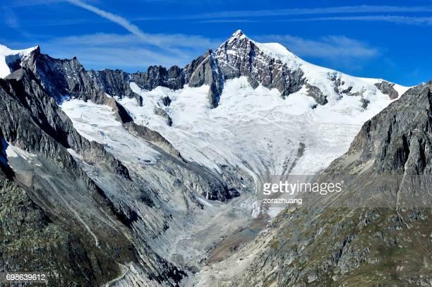 Aletsch Gletscher, Alpen, Schweiz