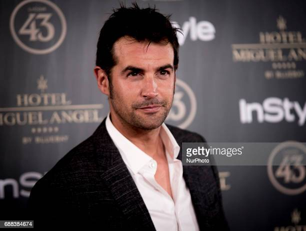 Alex Adrover attends El Jardin del Miguel Angel party photocall at Miguel Angel hotel on May 24 2017 in Madrid Spain