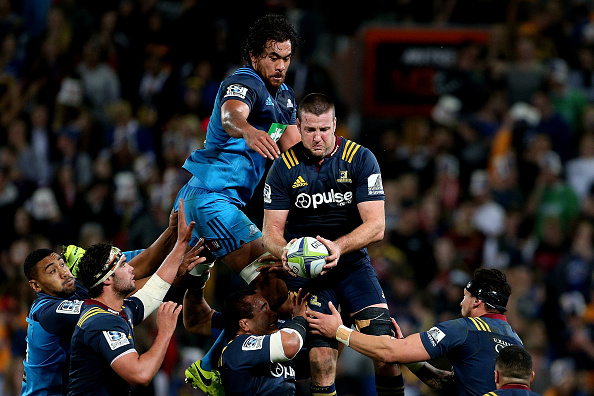 Super Rugby Rd 7 - Highlanders v Blues : News Photo