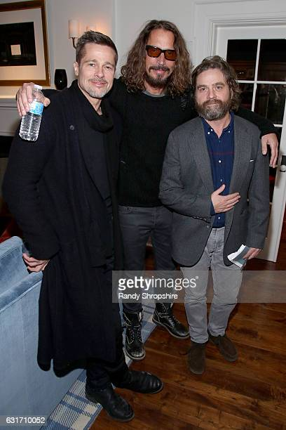 Alex Ani host ROCK4EB with Sting and Chris Cornell at EBMRF Benefit on January 14 2017 in Malibu California