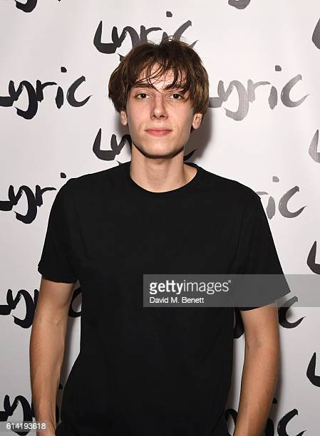Alex Arnold attends the press night performance of 'Shopping And Fucking' at The Lyric Hammersmith on October 12 2016 in London England