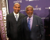 Alex Avant and Clarence Avant attend BET Honors 2013 at Warner Theatre on January 12 2013 in Washington DC