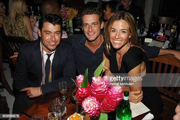 Alex Badia Alexi Lubomirski and Kelly Killoren Bensimon attend RACHEL ZOE's PreLaunch Book Release Dinner Cocktail Party Hosted by MARGHERITA MISSONI...
