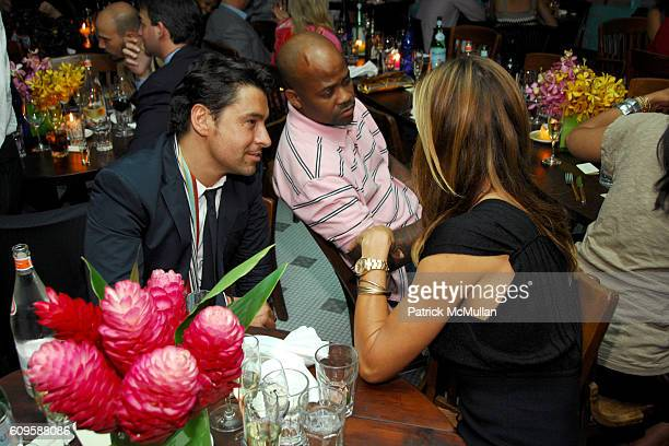Alex Badia Damon Dash and Kelly Killoren Bensimon attend RACHEL ZOE's PreLaunch Book Release Dinner Cocktail Party Hosted by MARGHERITA MISSONI at...