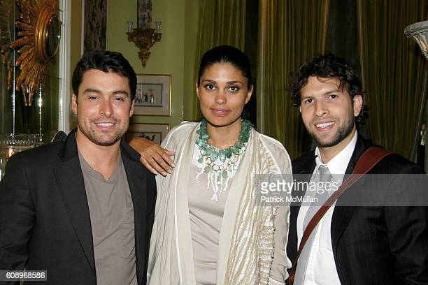 Alex Badia Rachel Roy and Tomer Gendler attend RACHEL ROY Fall 2007 Collection Preview Party at The Townhouse at 20 East 63rd Street on May 17 2007...