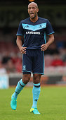 Alex Baptiste of Middlesbrough looks on during the pre season friendly match between York City and Middlesbrough at Bootham Crescent on July 9 2016...