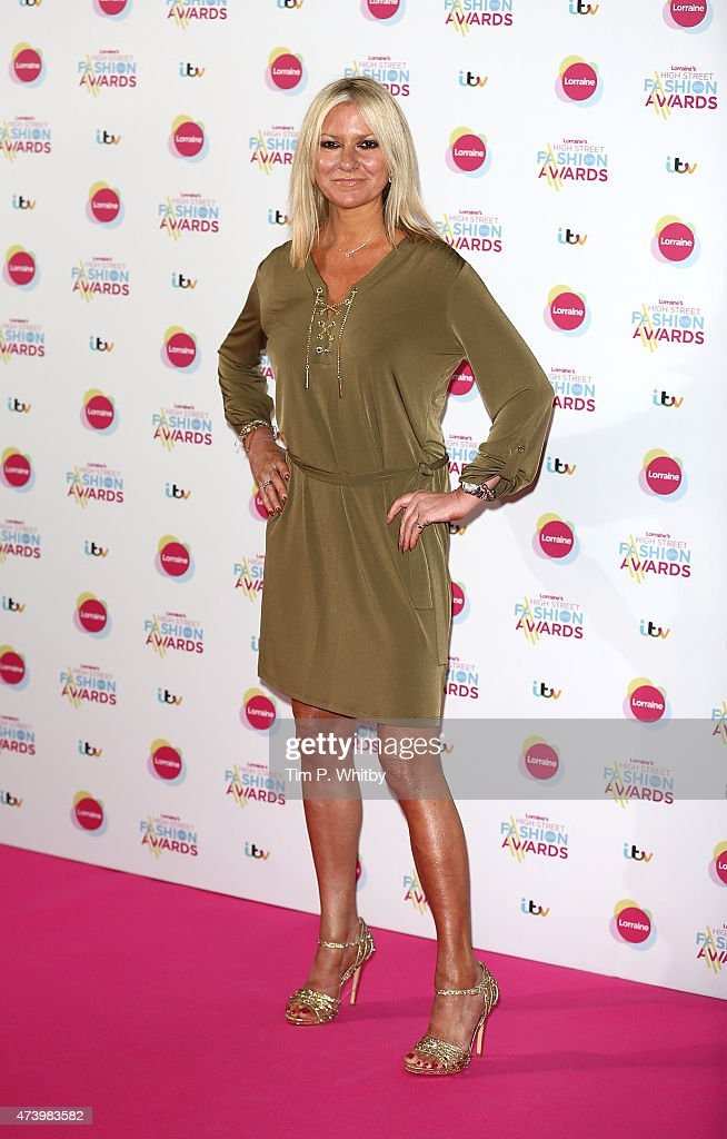 Alex Best attends Lorraine's High Street Fashion Awards at Grand Connaught Rooms on May 19 2015 in London England