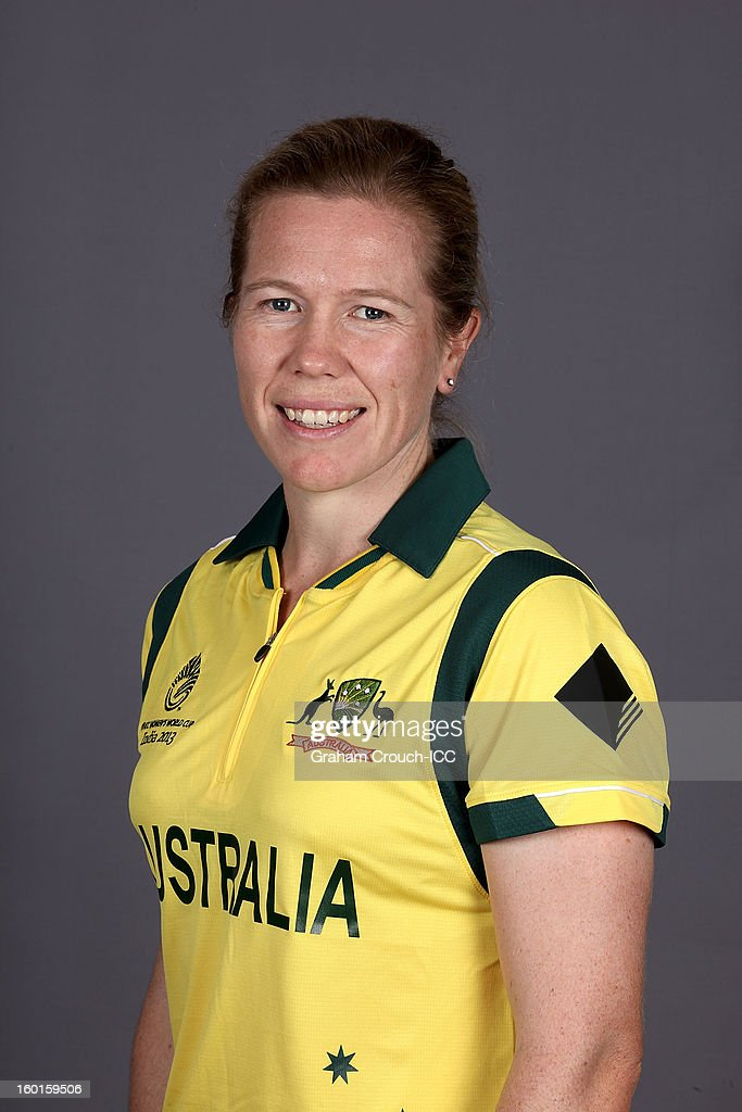 Alex Blackwell of Australia attends a portrait session ahead of the ICC Womens World Cup 2013 at the Taj Mahal Palace Hotel on January 27, 2013 in Mumbai, India.
