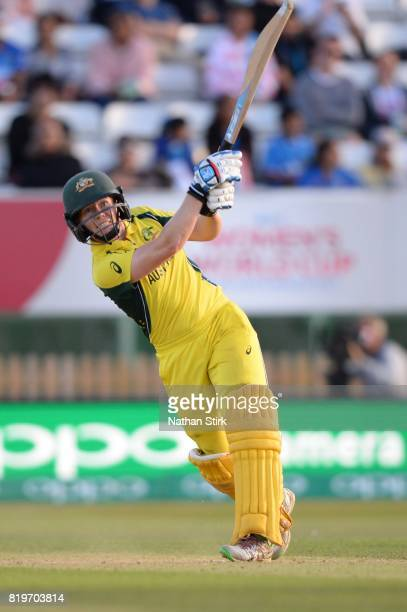 Alex Blackwell of Australia batting during the SemiFinal ICC Women's World Cup 2017 match between Australia and India at The 3aaa County Ground on...