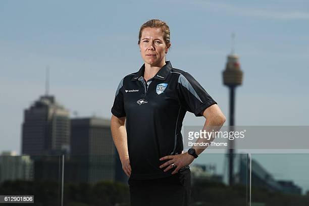 Alex Blackwell of the Breakers poses during a Cricket NSW media opportunity at Sydney Cricket Ground on October 6 2016 in Sydney Australia