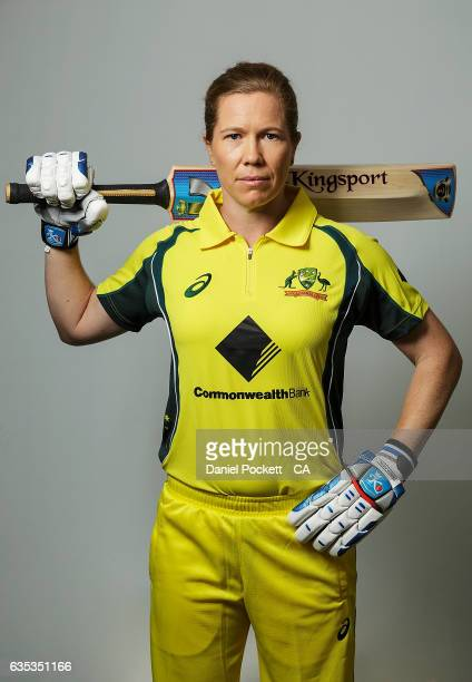 Alex Blackwell poses during the Southern Stars Twenty20 Headshots Session on February 14 2017 in Melbourne Australia