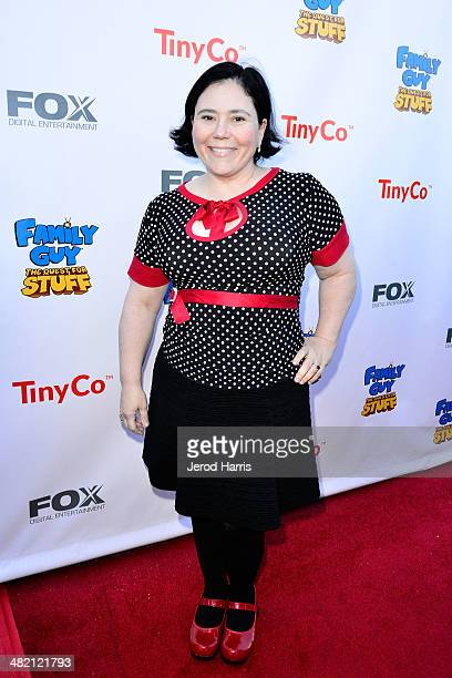 Alex Borstein attends the Launch Party for the 'Family Guy' Game at the Happy Ending Bar Restaurant on April 2 2014 in Hollywood California