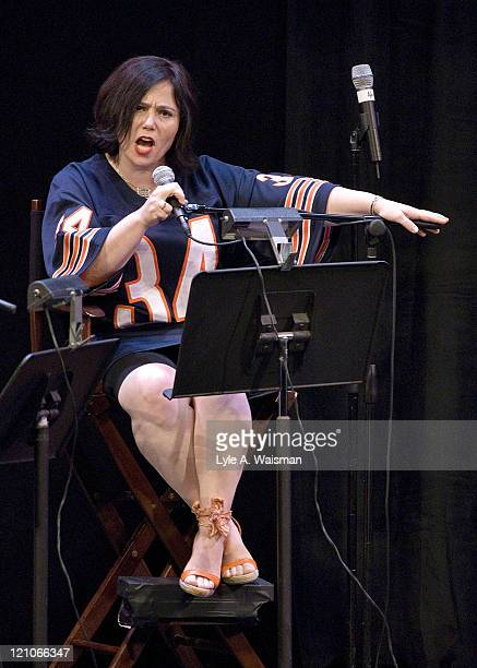 Alex Borstein performs Family Guy Live At The Chicago Theater on September 15th 2007 in Chicago Illinois