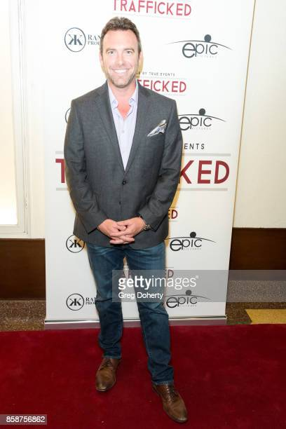 Alex Boylan attends the Premiere Of Epic Pictures Releasings' 'Trafficked' at the Aero Theatre on October 6 2017 in Santa Monica California