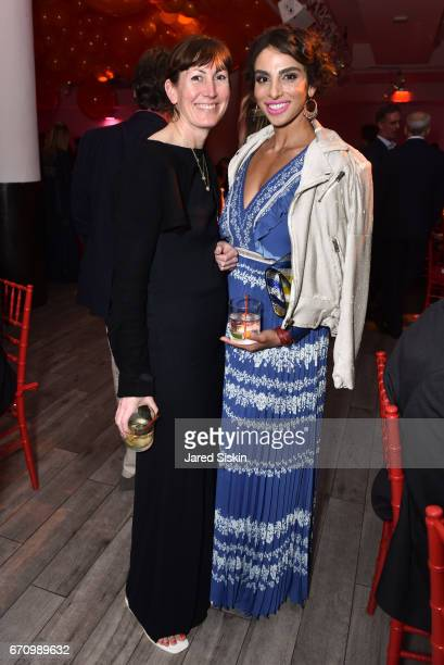 Alex Brown and Shari Loeffler attends Public Art Fund's 40th Anniversary Benefit at Metropolitan West on April 20 2017 in New York City