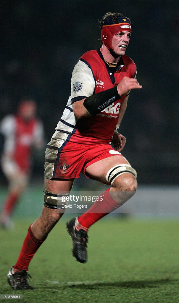 Alex Brown of Gloucester pictured during the Guinness Premiership match between London Wasps and Gloucester at Adams Park on December 26 2006 in High...