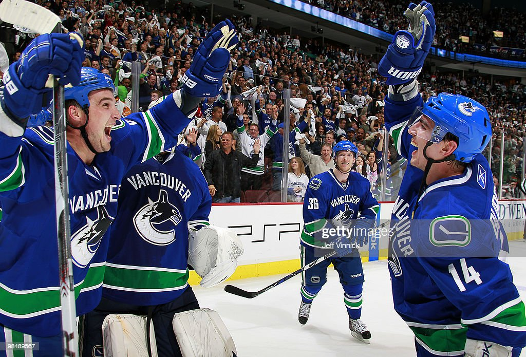 Los Angeles Kings v Vancouver Canucks - Game One