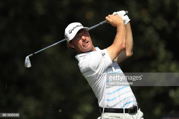 Alex Cejka of Germany hits off the 13th tee during the second round of the Valspar Championship at Innisbrook Resort Copperhead Course on March 10...