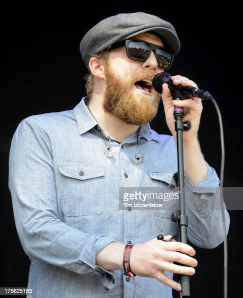 Alex Clare performs as part of Lollapalooza 2013 at Grant Park on August 4 2013 in Chicago Illinois