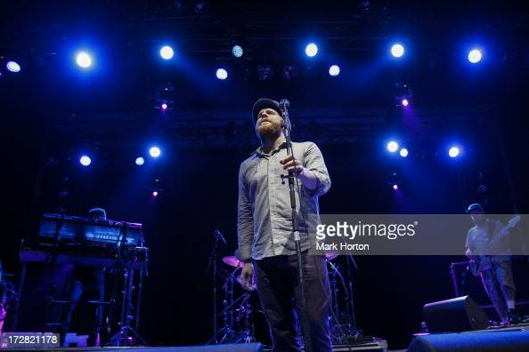 Alex Clare performs on Day 1 of the RBC Royal Bank Bluesfest on July 4 2013 in Ottawa Canada