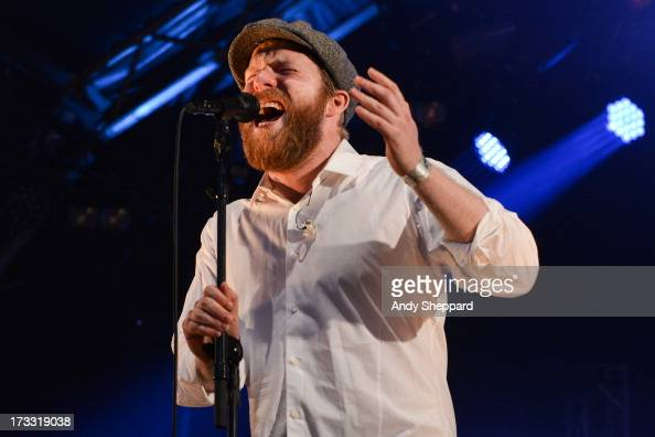 Alex Clare performs on stage as part of the Summer Series of openair concerts at Somerset House on July 11 2013 in London England