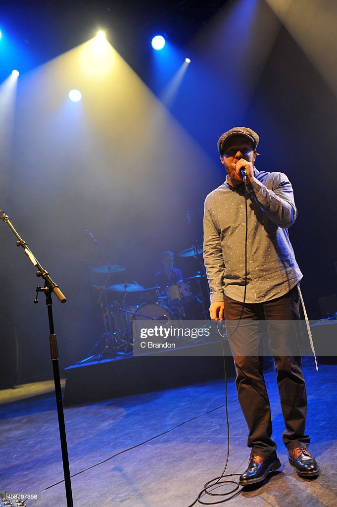 Alex Clare performs on stage at Shepherds Bush Empire on November 10 2014 in London United Kingdom